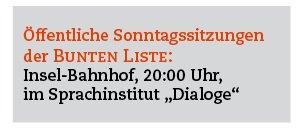 Sonntag, 22. Januar 2012, Haus der Dialoge , Bahnhof 1 b, 20.00 Uhr - öffentlicher Themenabend von OB Kandidat Max Strauß: Finanzen und Großprojekte