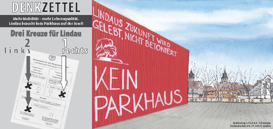 Parkhaus-Rot-Denkzettel